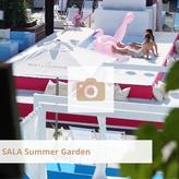 Sala Summer Garden, Biergarten in der Nähe, Cocktails, Ibiza Vibes, Lounge, Party, Tanzen, Open Air, Veranstaltung, eventlocation Köln, eventlocation, Köln