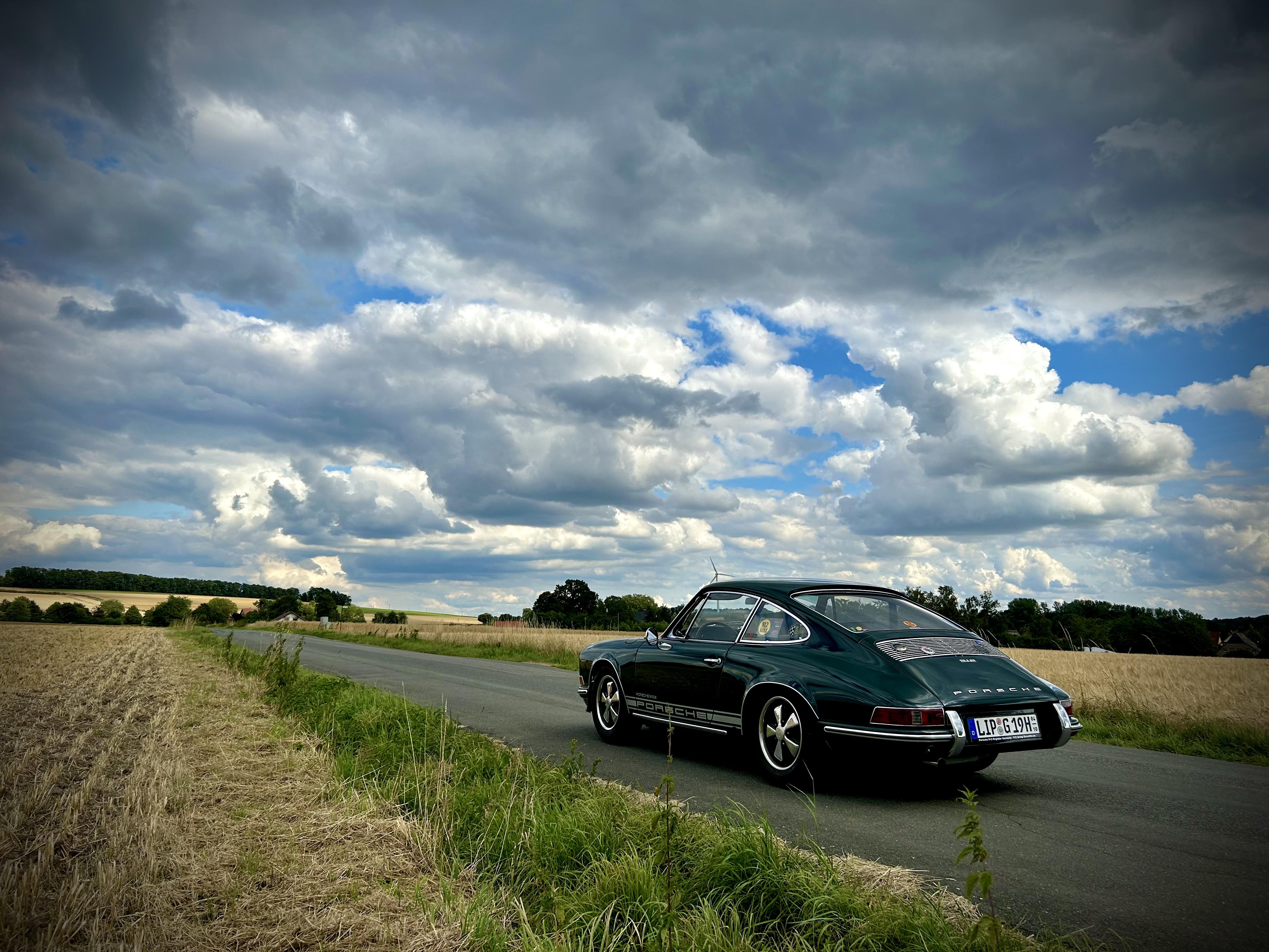 Porsche 912 Urzwölfer :  Aktuelles Titelfoto unserer facebook-Seite