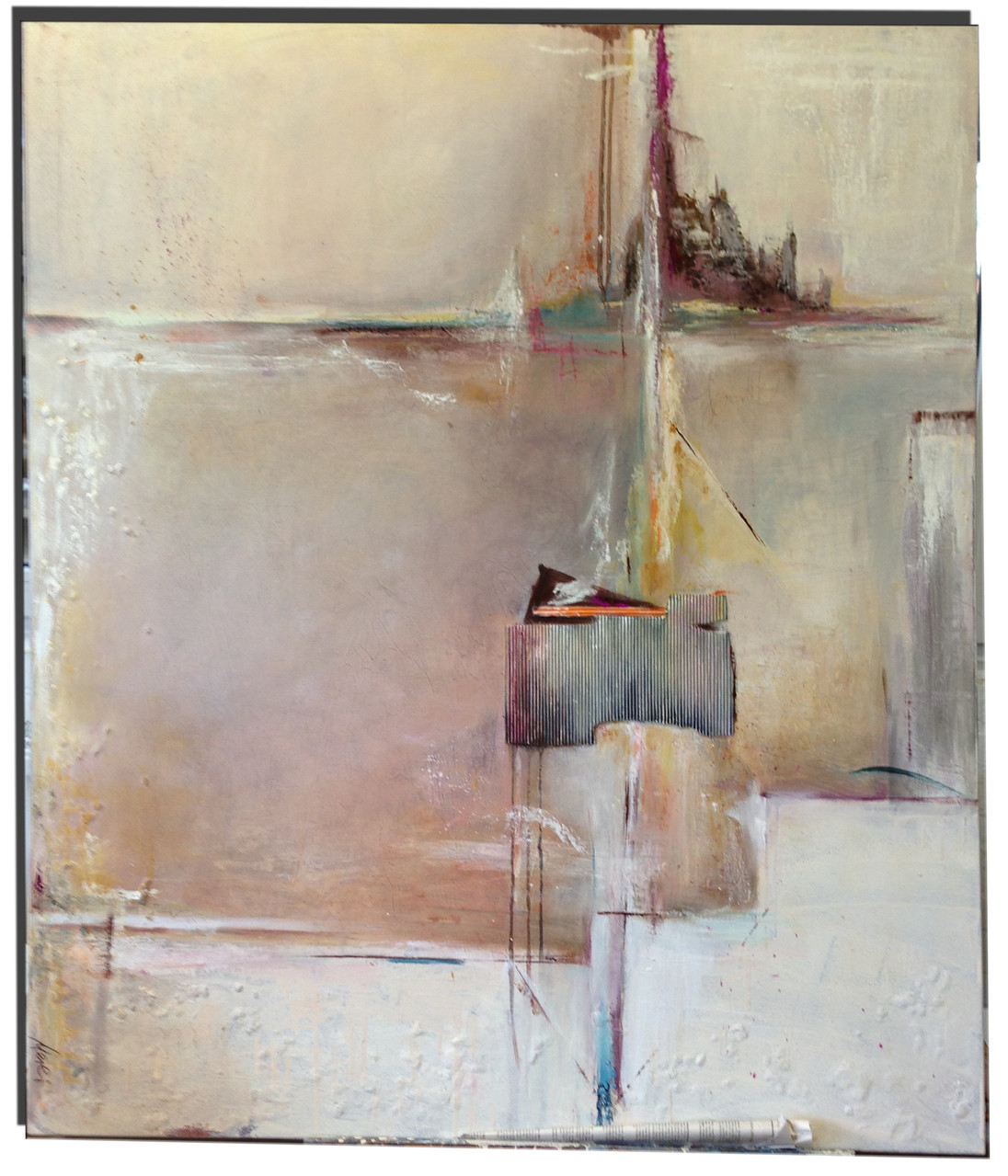 100 x 90 cm Skyline - VERKAUFT