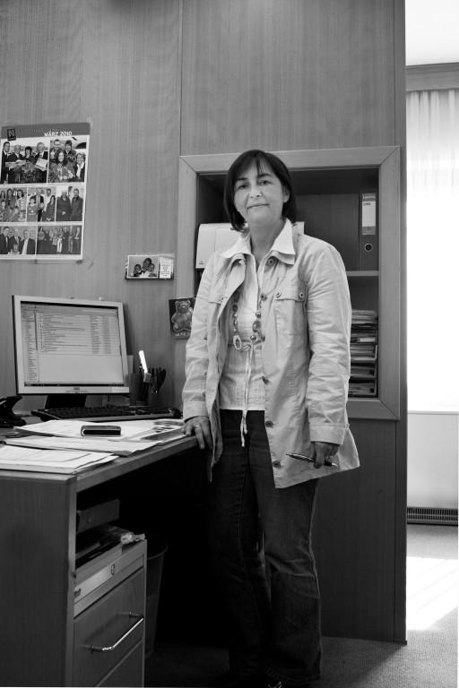 Doris R., Gemeindesekretärin