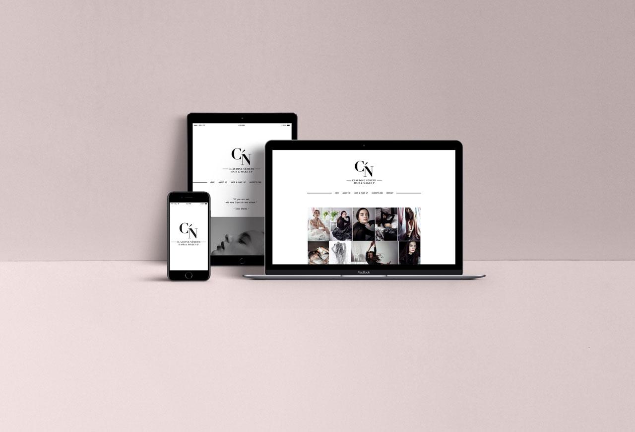 Claudine Németh - Website
