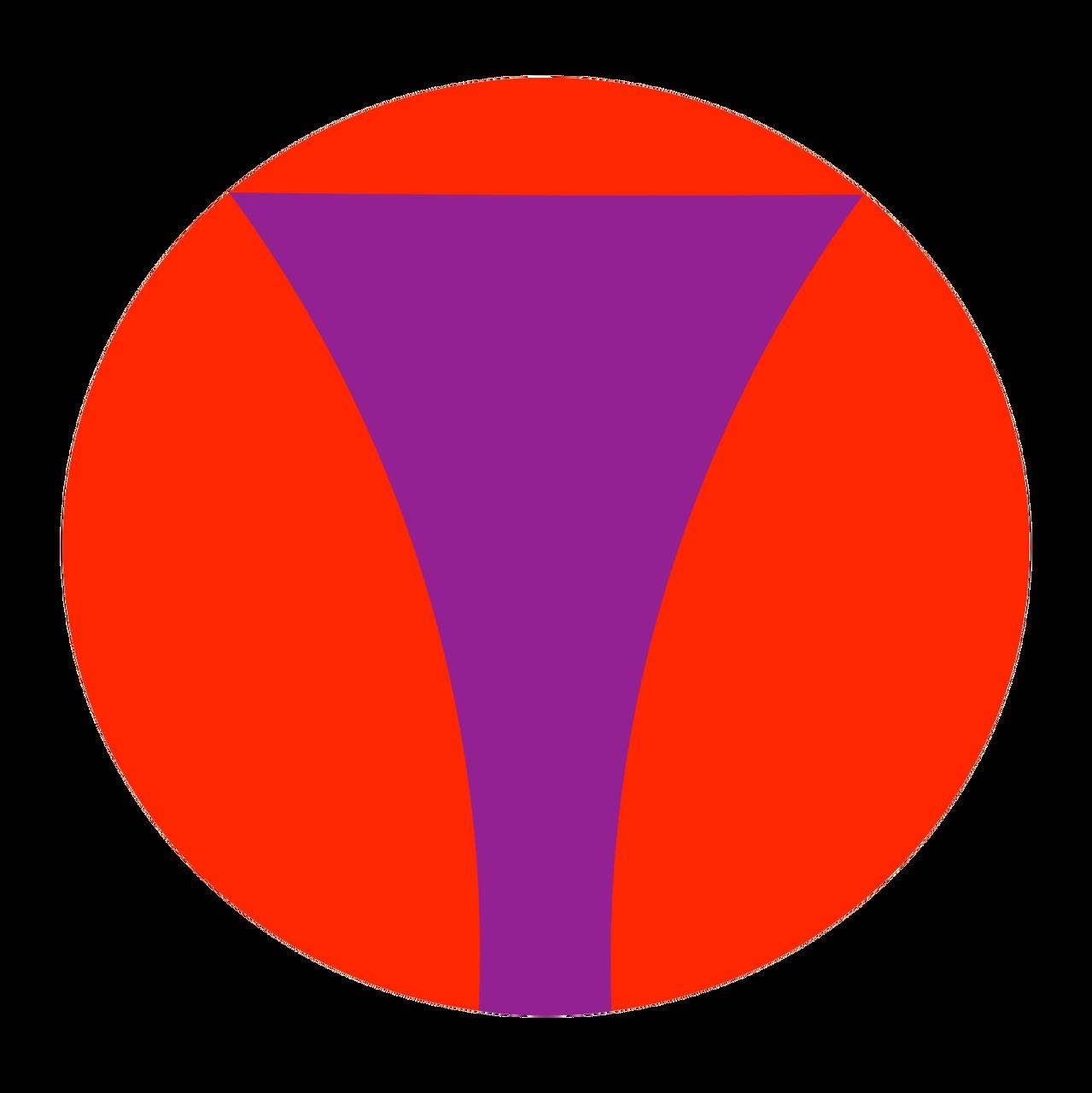 福之会 紋(赤紫)