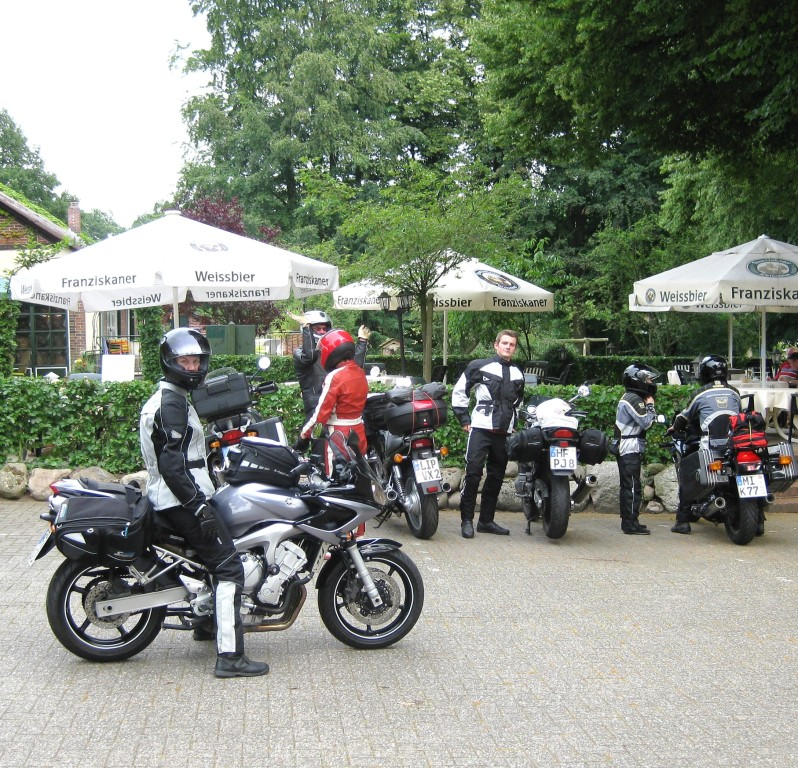 August 2009 - wieder starten wir mit einer Gruppe - diesmal gen Norden