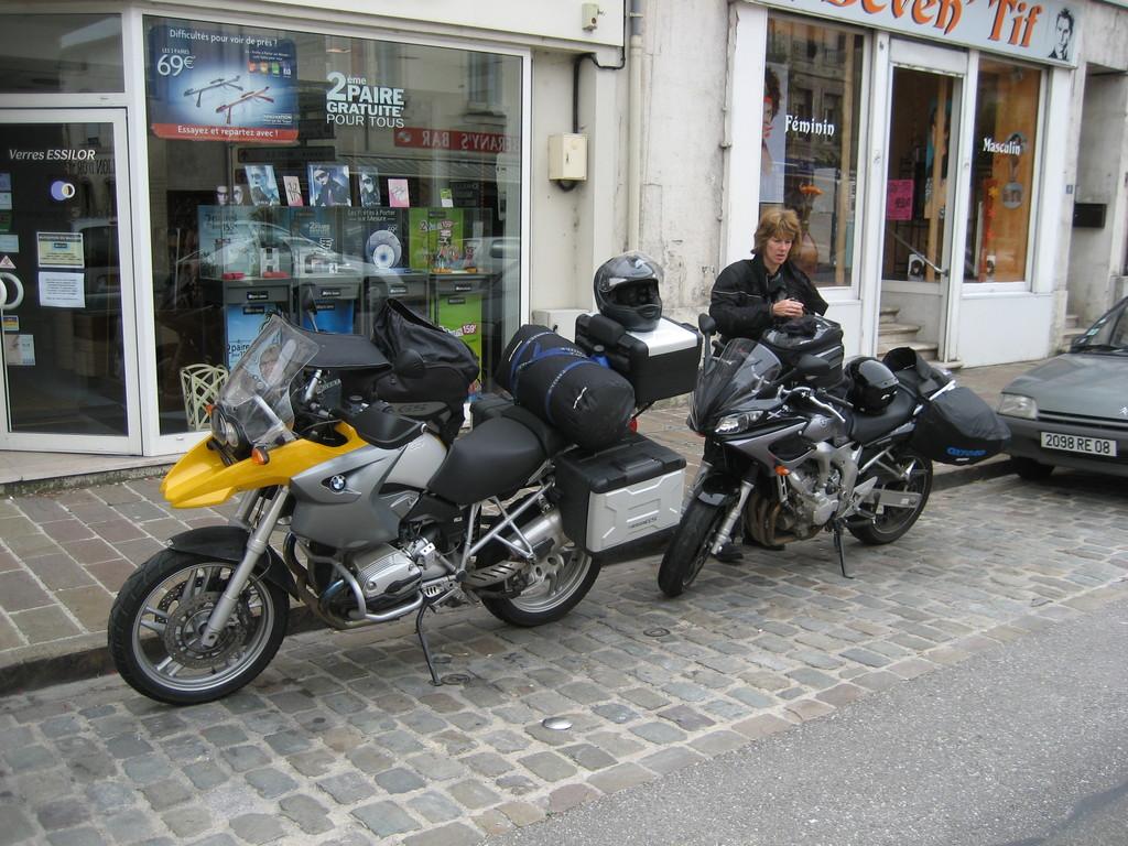 Im September 2008 dann fahren Karsten und ich zusammen nach Luxemburg/Frankreich/Deutschland (Bergisches Land)