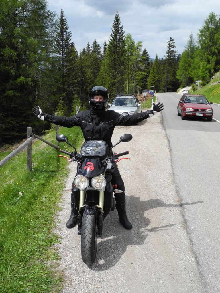 Im Mai 2012 besuchen wir Konrad in Südtirol und das Hotel Condor wird zu unserem favorisierten Motorradhotel