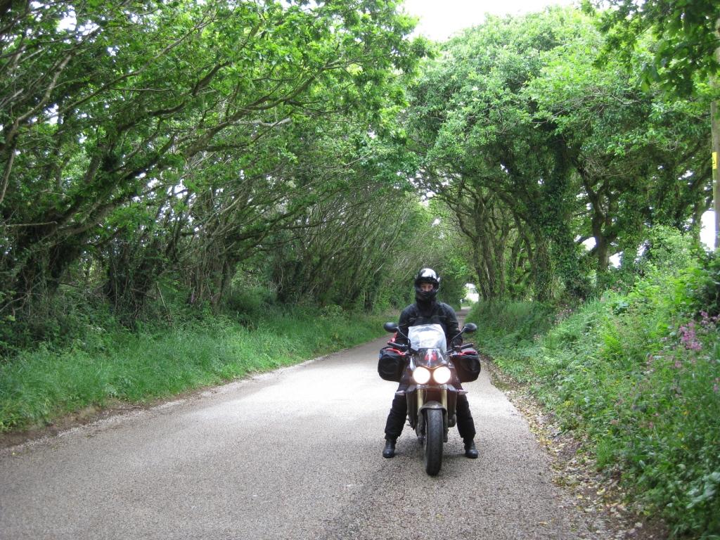 Weiter durch den Devon District und über Brighton nach Dover