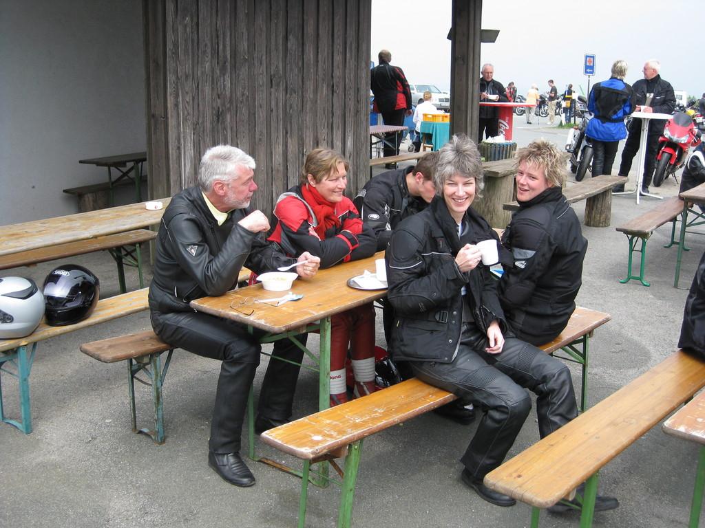 Die Tour endet auf dem Köterberg (Bielefeld)