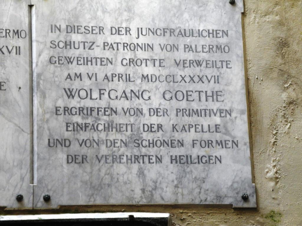 Selbst Wolfgang von Goethe war sehr ergriffen von Rosalias Lebensweg