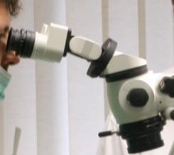 Ergonomie Dentalmikroskop