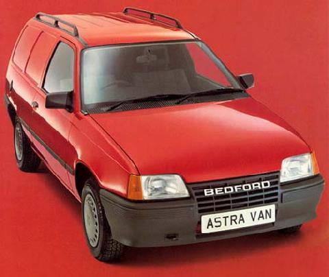 Bedford Astra van