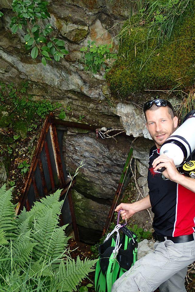 Auch im Harz gibt es schöne Höhlen!