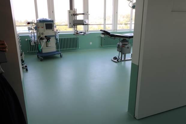 Operationssaal Kunstharz