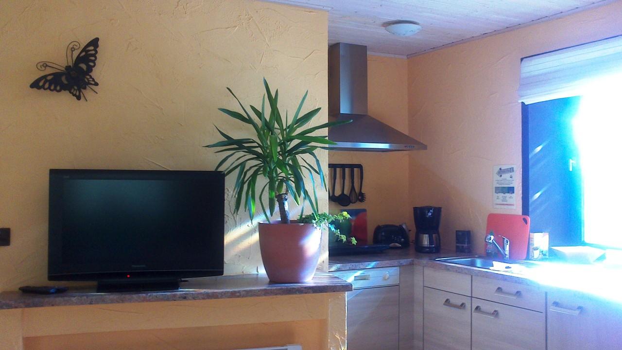 EG App. Wohnküche komplett eingerichtet