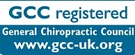 GCC registered, General Chiropractic Council