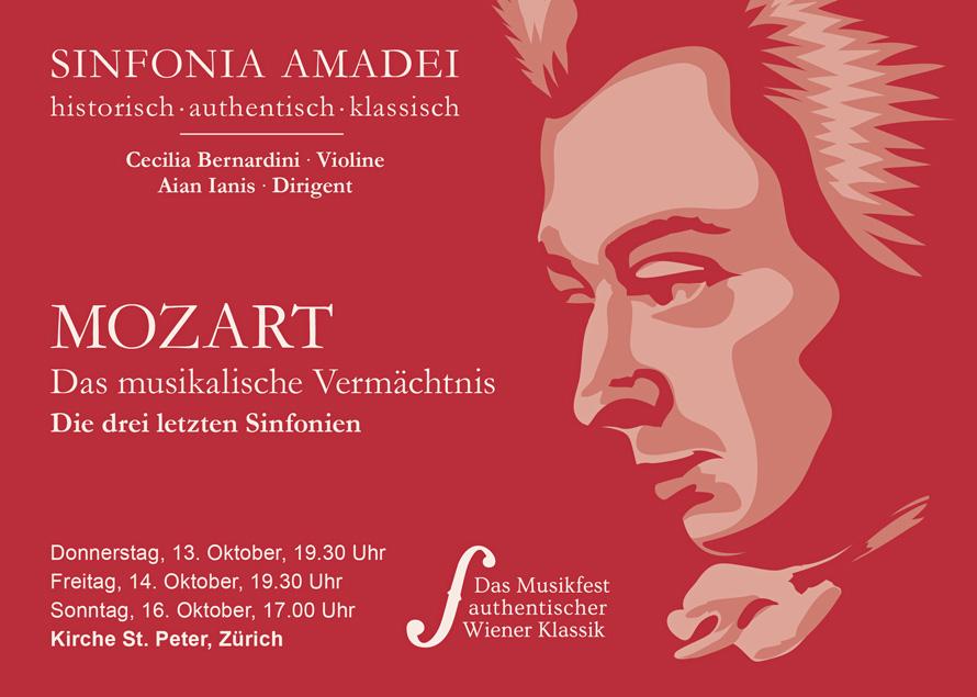 Sinfonia Amadei Mozart-Konzerte Zuerich 2016