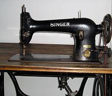 Maquina singer antigua casera