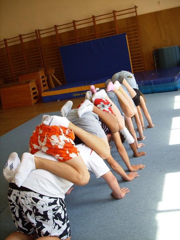 Eté Jeunes 2009, gym acrobatique