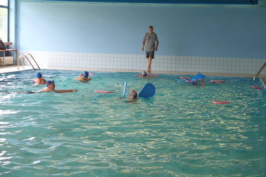 Eté Jeunes 2009, natation