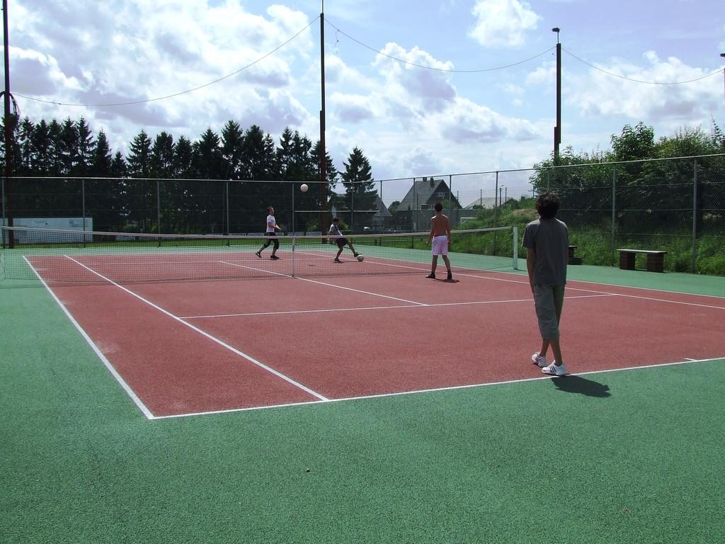 Eté Jeunes 2009, foot-tennis