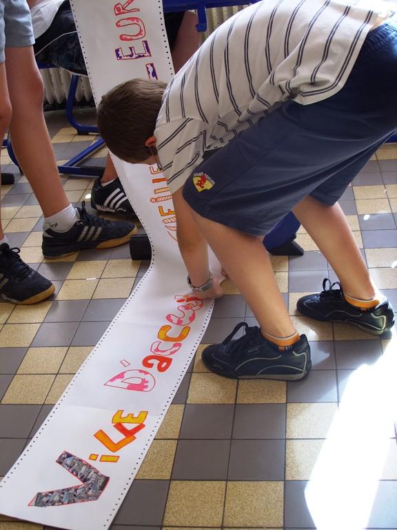 Eté Jeunes 2009, atelier culturel: jeux de langage