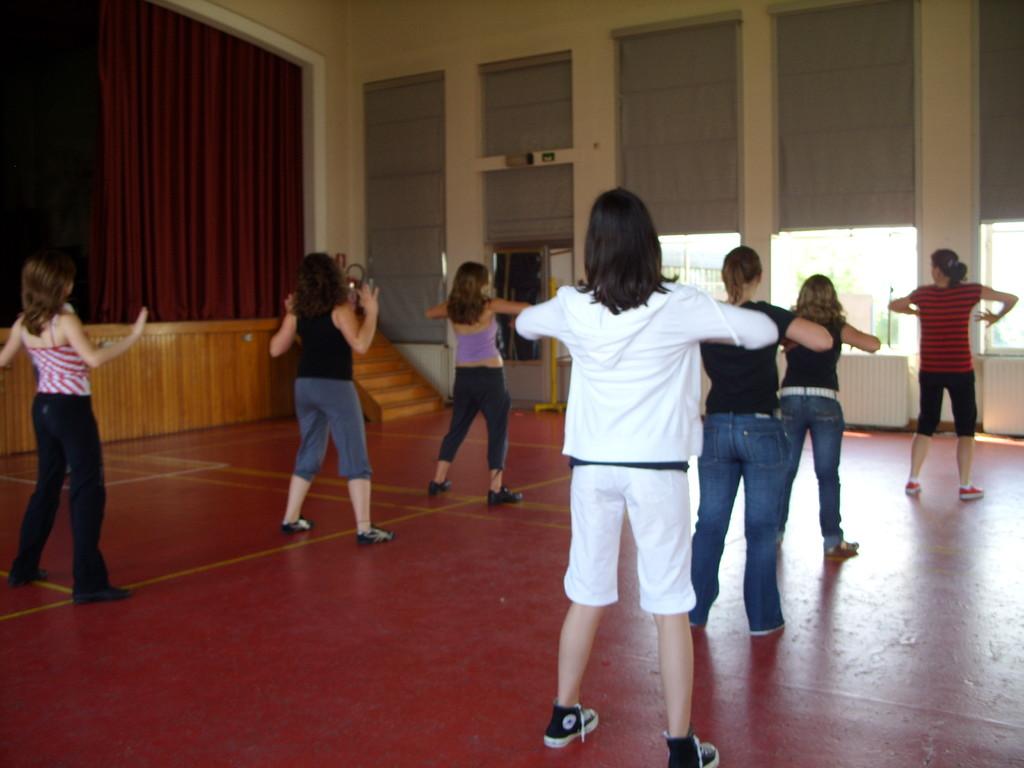 Eté Jeunes 2009, atelier culturel danse