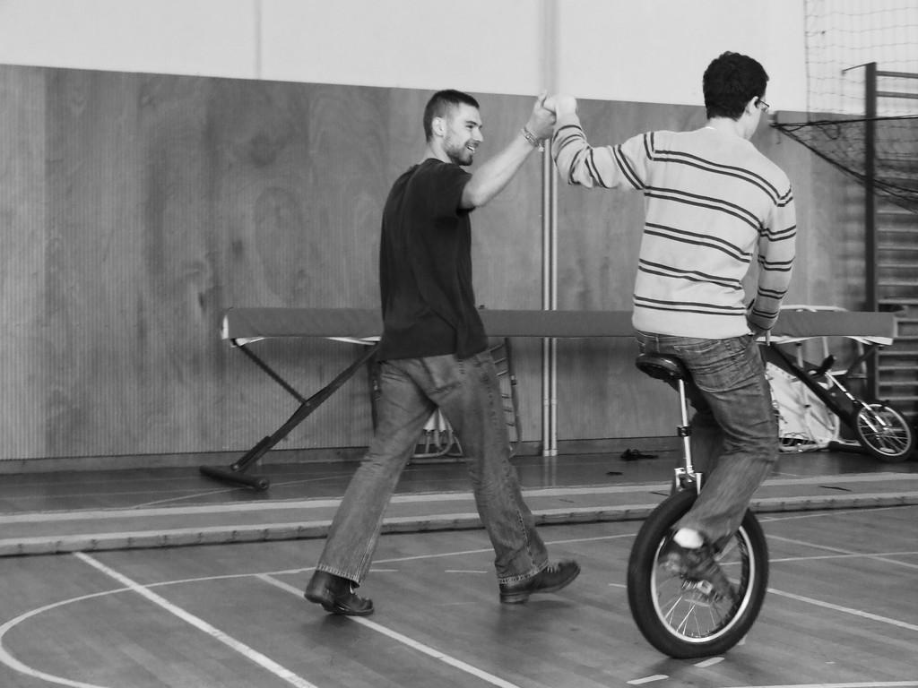 Eté Jeunes 2009, atelier culturel: cirque