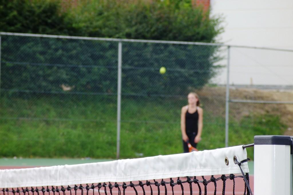 Eté Jeunes 2009, tennis