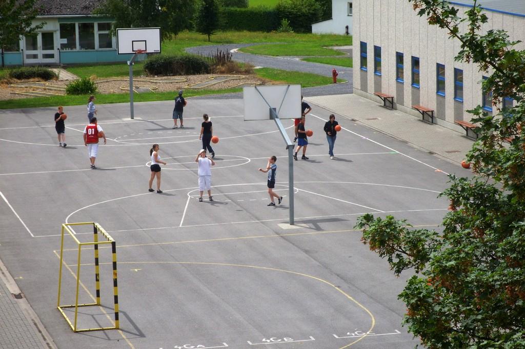 Eté Jeunes 2009, basket-ball