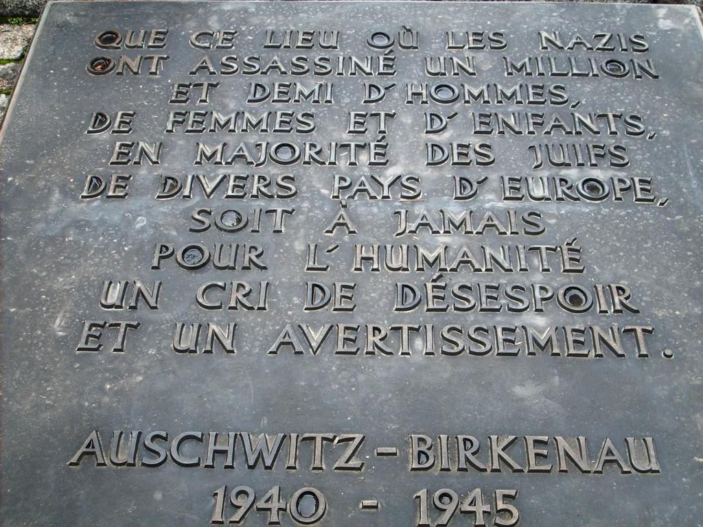 Auschwitz - Birkenau 2008