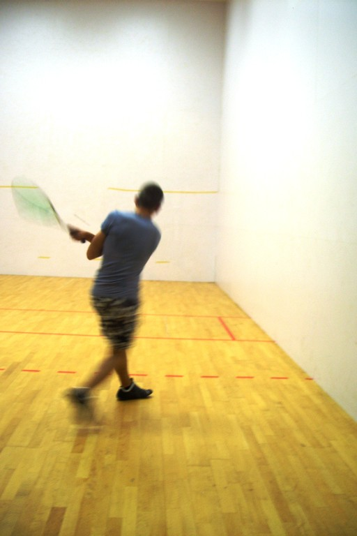 Eté Jeunes 2009, squash