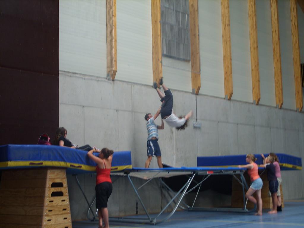 Eté Jeunes 2009, trampoline