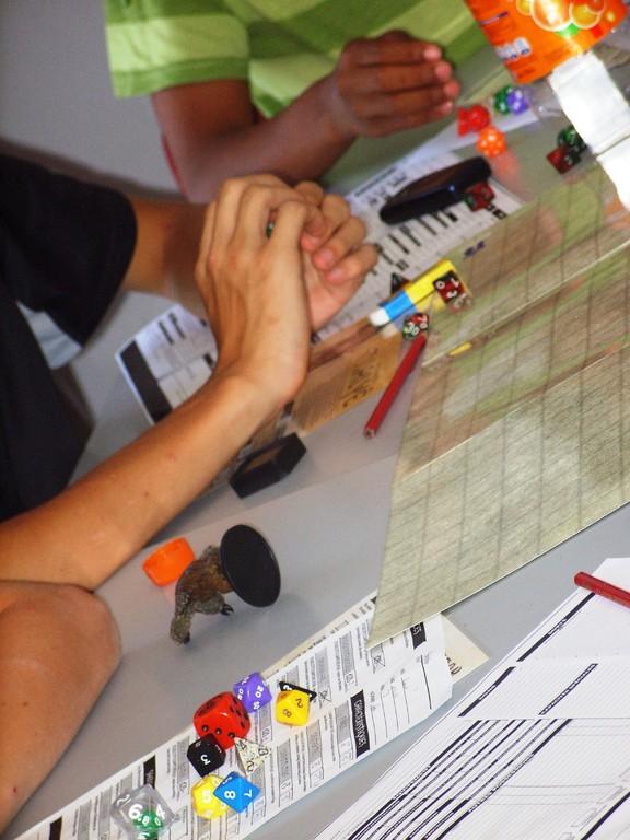 Eté Jeunes 2009, atelier culturel: jeu de rôles