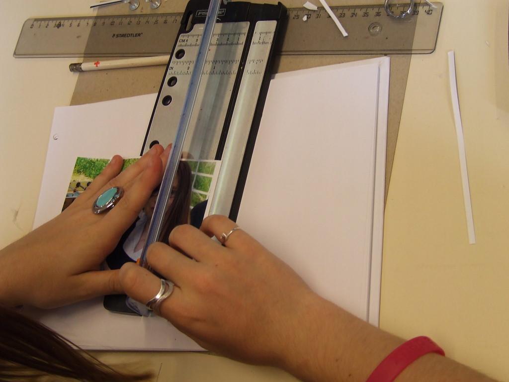 Eté Jeunes 2009, atelier culturel: scrapbooking