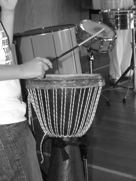Eté Jeunes 2009, atelier culturel: percussion
