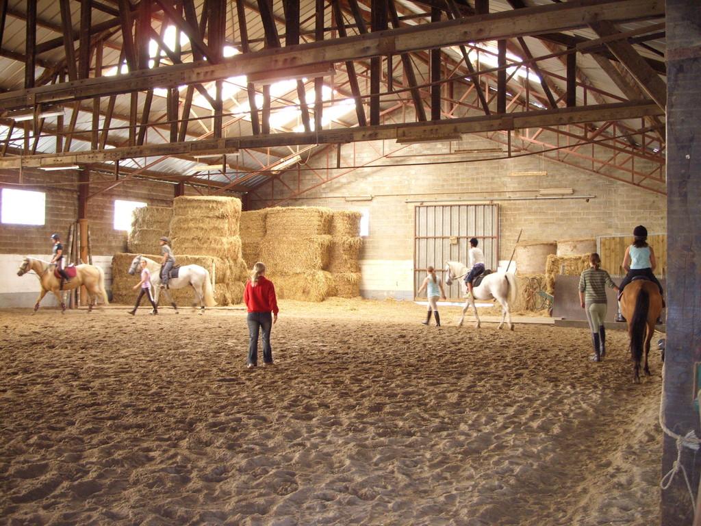 Eté Jeunes 2009, équitation