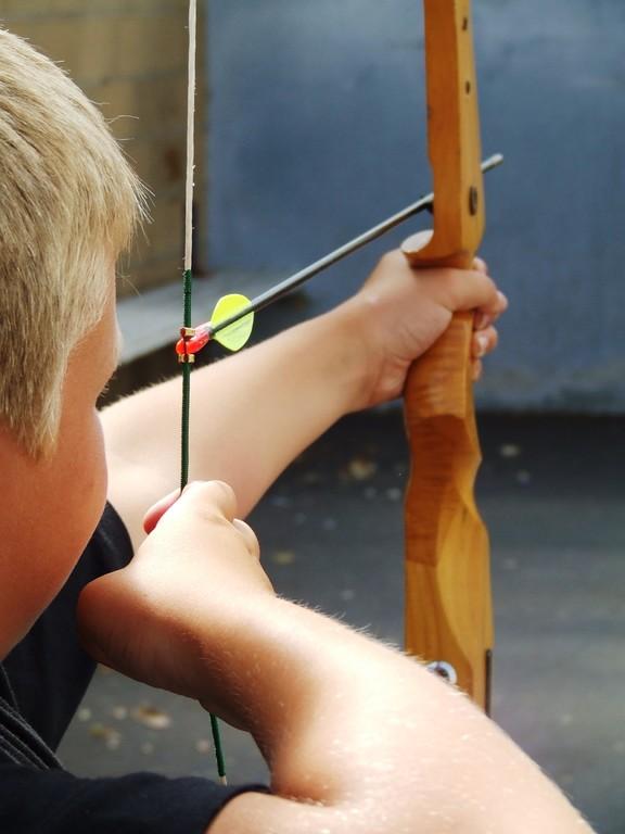 Eté Jeunes 2009, tir à l'arc