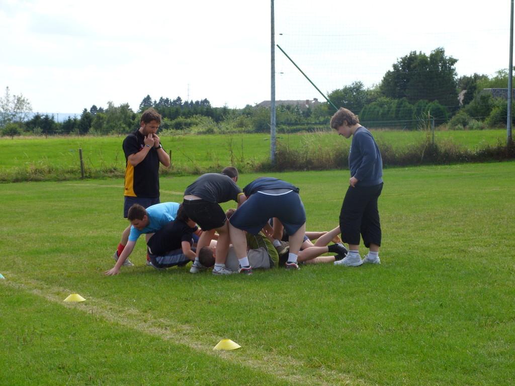 Eté Jeunes 2009, rugby