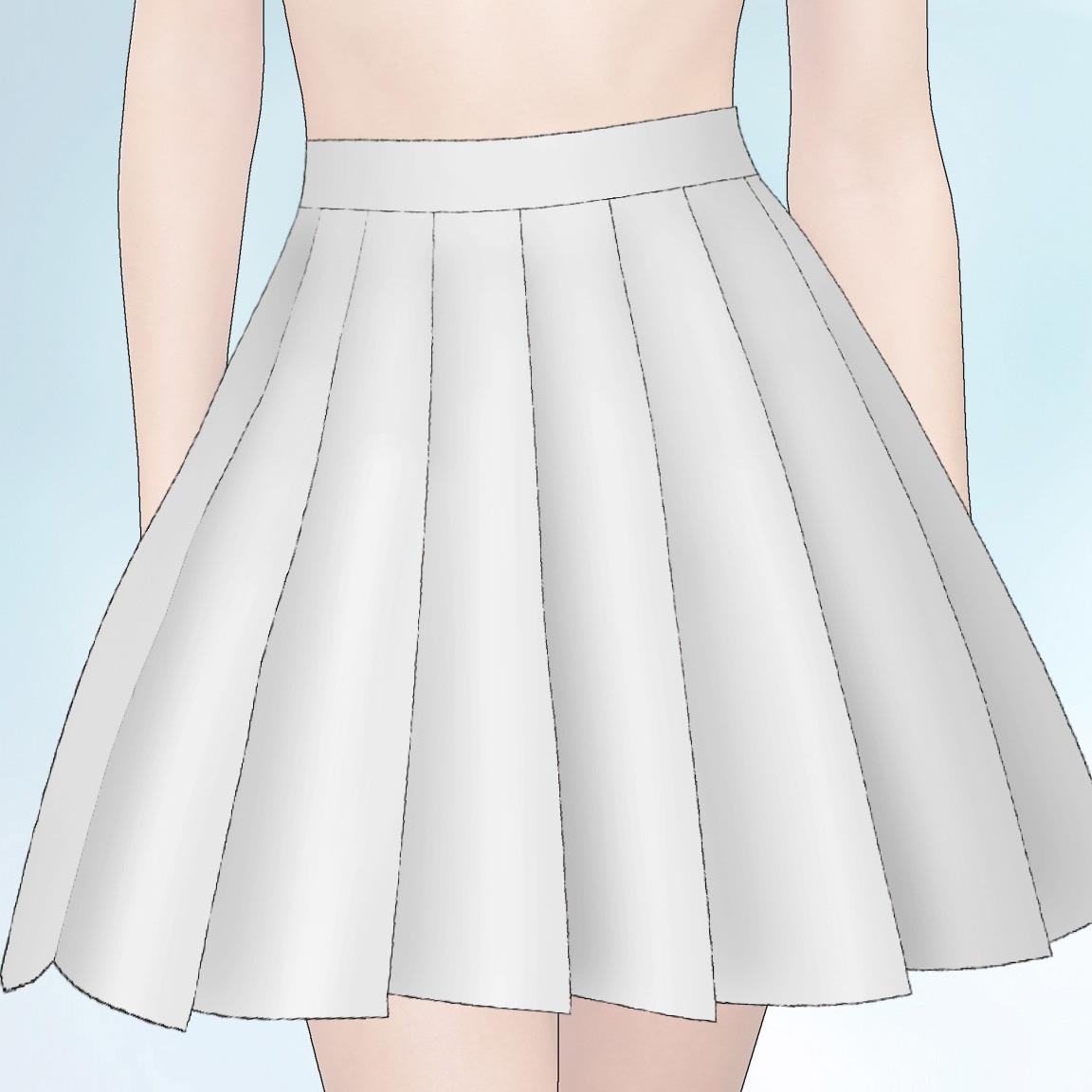 Comment faire une jupe plissée - Femme