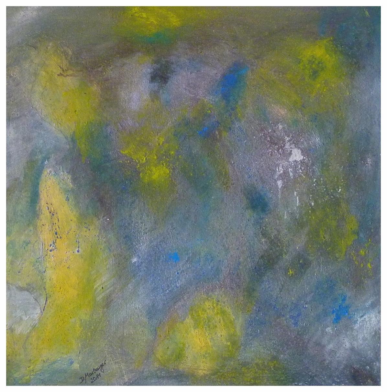 Flechten , 50 x 50 / 2014