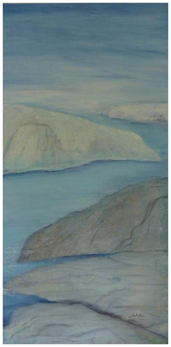 Fjord , 50 x 100 / 2012