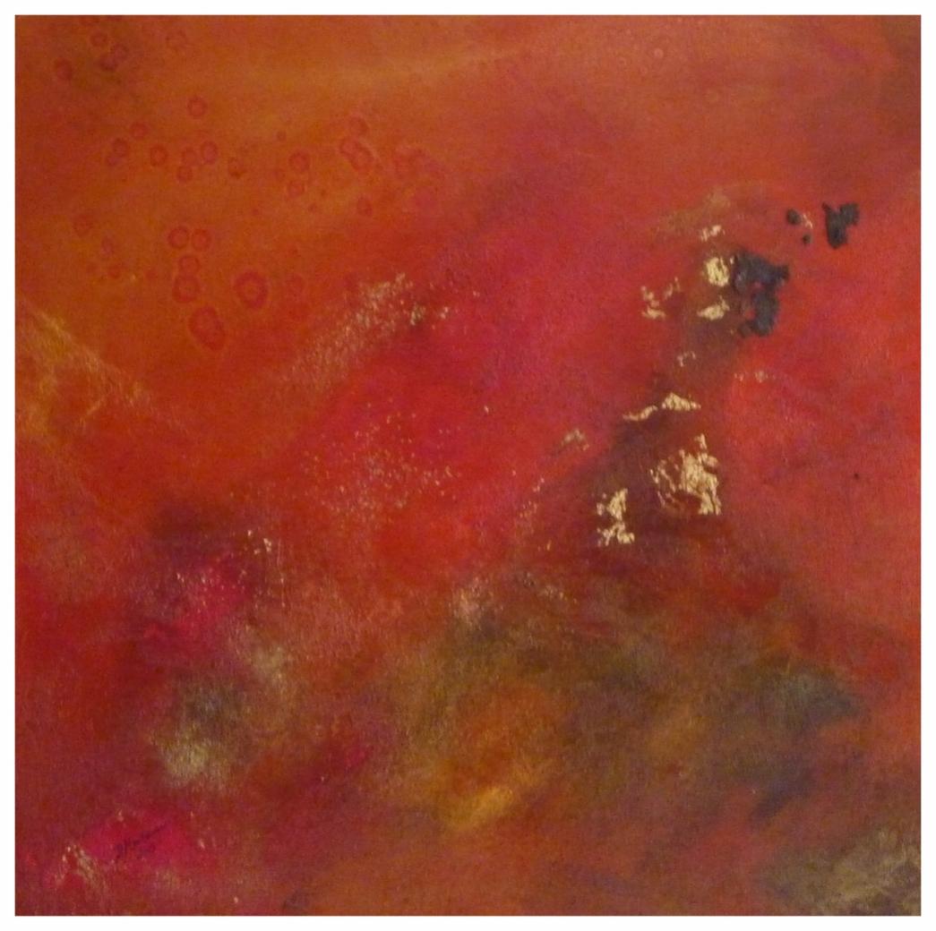 Orange I , 60 x 60 /  2015