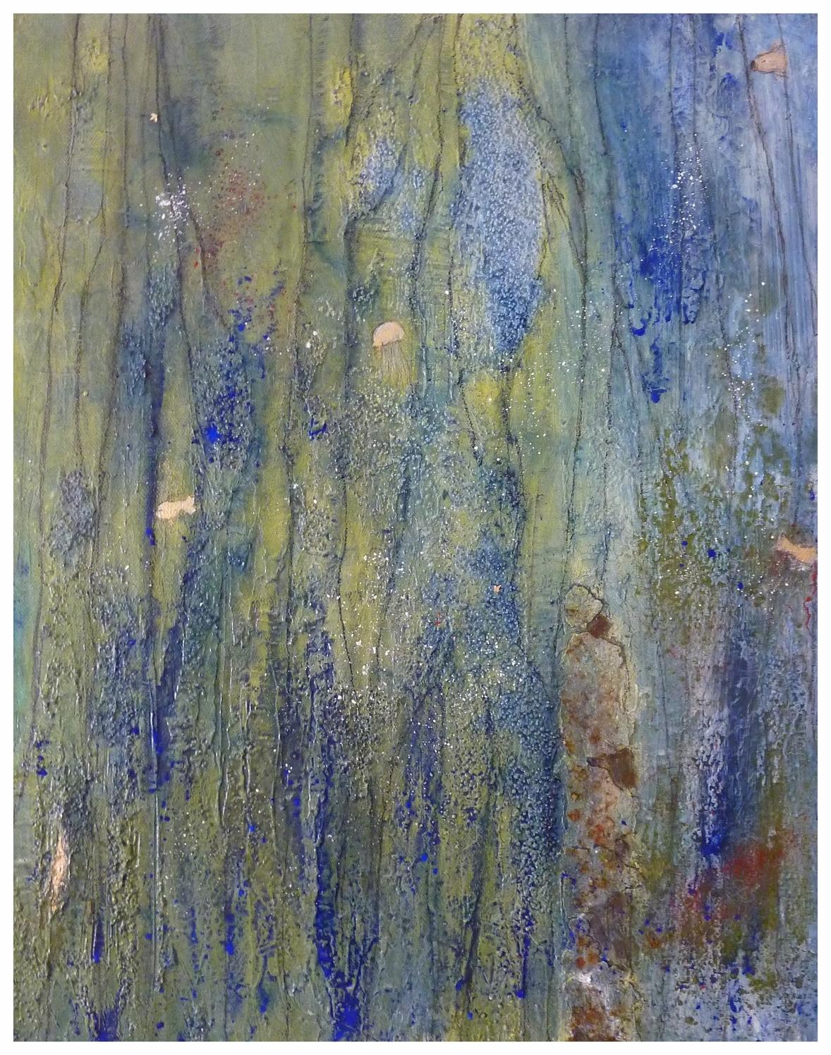 Algen I , 40 x 50 / 2014