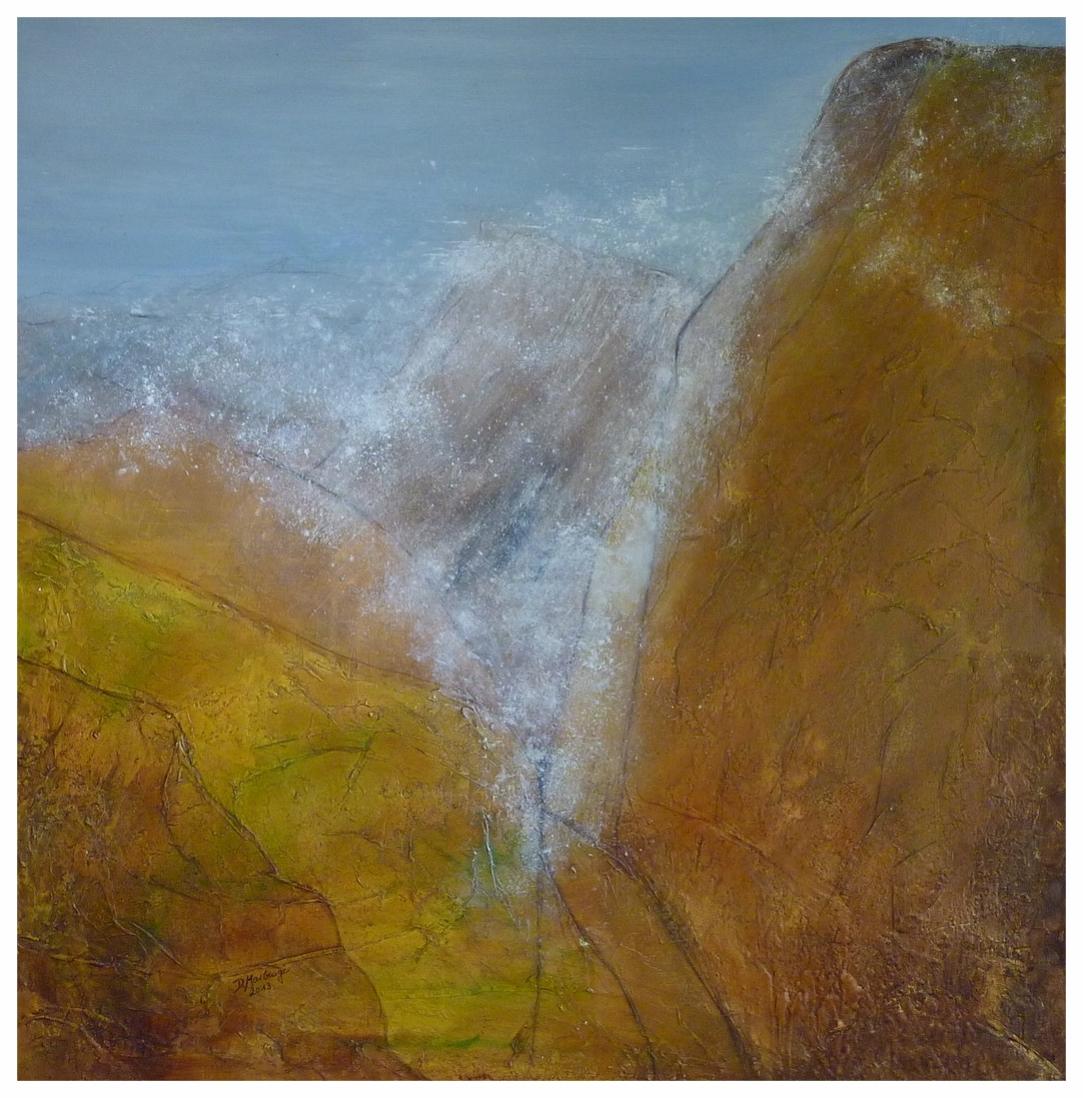Gebirge II , 90 x 90 / 2013