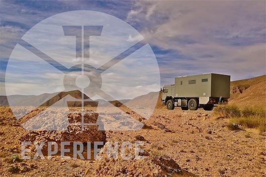 Dirt RoadExpedition Vehicle  Expeditionsmobile von Toe-Experience in den Bergen -  Reisemobile auf Dirt-Roads unterwegs - Expeditionsmobilbau - Bau von Weltreisemobilen