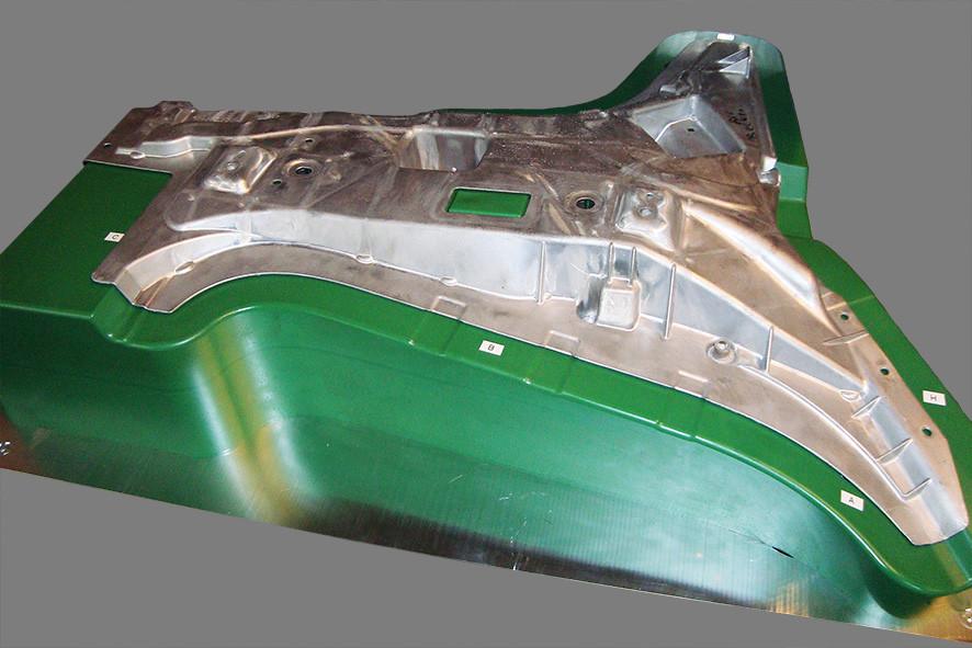 Messlehre für Aluminiumstrukturteile
