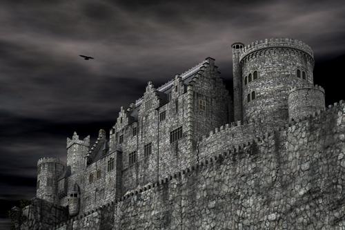 Fantasy-Burg