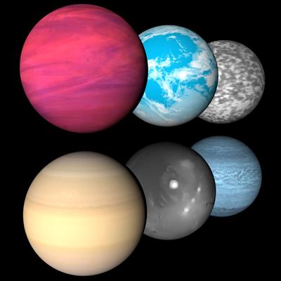 alien Planeten