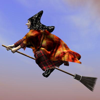 3D-Hexe, 3D-witch