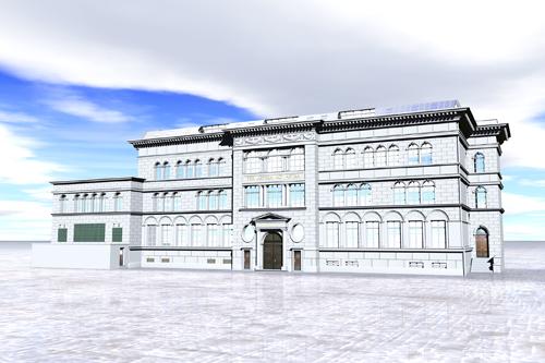 das ehemalige Stolberger Goethe-Gymnasium im virtuellen Raum