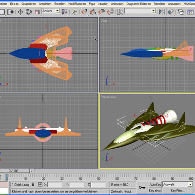 screenshot 3D-fighter
